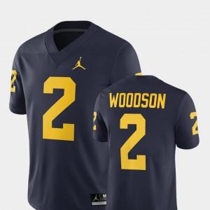 For Men #2 Alumni Football Game 2018 Charles Woodson Michigan Jersey Navy 737331-191