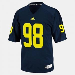Devin Gardner Michigan Jersey #98 College Football For Men's Blue 166467-939